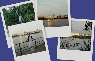 Page 1: Around Alster Lake, ...