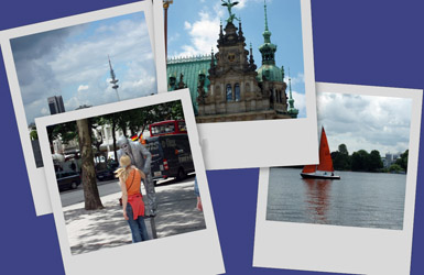 Page 3: Cruise on Alster Lake, ...